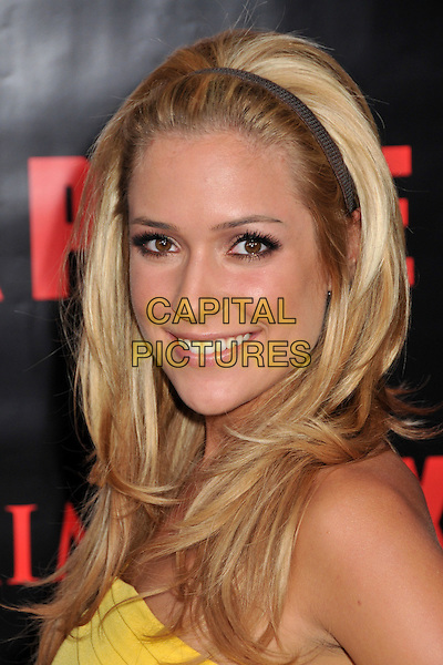 "KRISTIN CAVALLARI.""Max Payne"" Los Angeles Premiere at Grauman's Chinese Theatre, Hollywood, California, USA..October 13th, 2008.headshot portrait alice band hairband.CAP/ADM/BP.©Byron Purvis/AdMedia/Capital Pictures."