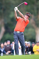 February 22, 2015: Bubba Watson during the final round of the Northern Trust Open. Played at Riviera Country Club, Pacific Palisades, CA. M