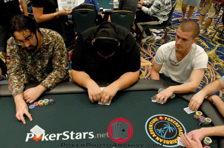 Hevad Kahn and Gus Hansen on the same table.