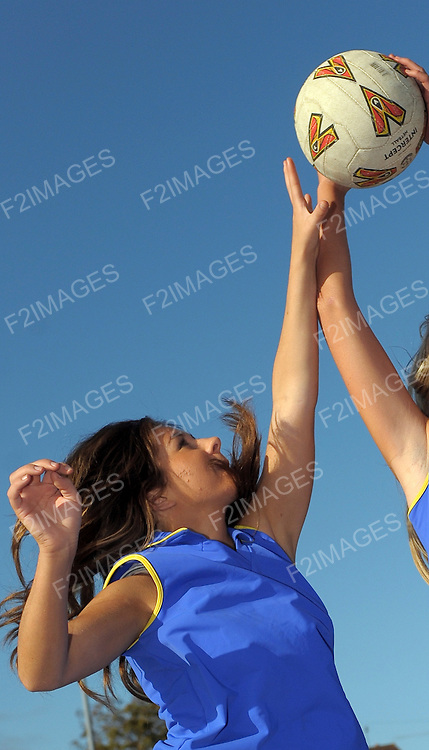 Secondary school pupils pictured during a netball lesson...Photo by Alan Edwards© Photo by Alan Edwards