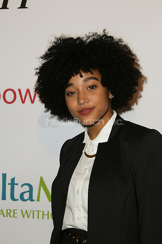 BEVERLY HILLS, CA - MAY 12: Amandla Stenberg attends the AltaMed Power Up, We Are The Future Gala at the Beverly Wilshire Four Seasons Hotel on May 12, 2016 in Beverly Hills, California. Credit: Parisa/MediaPunch.