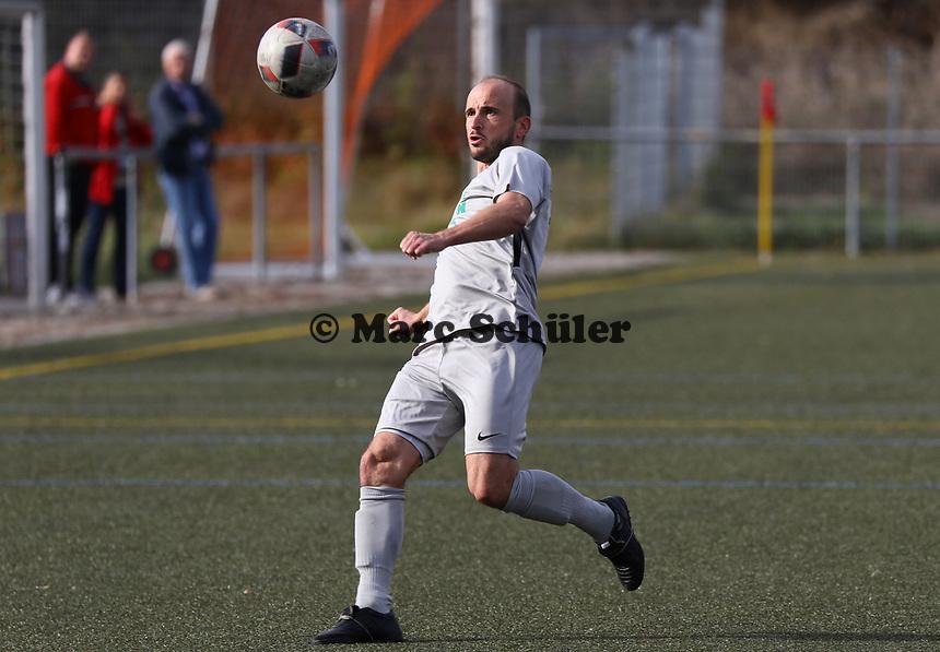 Alexander Lehmann (Bürstadt) - Büttelborn 03.10.2018: SKV Büttelborn vs. SV Bürstadt