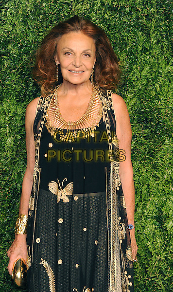 NEW YORK, NY - NOVEMBER 2: Diane Von Furstenberg attends the 12th annual CFDA/Vogue Fashion Fund Awards at Spring Studios on November 2, 2015 in New York . <br /> CAP/MPI/STV<br /> &copy;STV/MPI/Capital Pictures