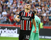 Filip Kostic (Eintracht Frankfurt) ärgert sich - 18.08.2019: Eintracht Frankfurt vs. TSG 1899 Hoffenheim, Commerzbank Arena, 1. Spieltag Saison 2019/20 DISCLAIMER: DFL regulations prohibit any use of photographs as image sequences and/or quasi-video.