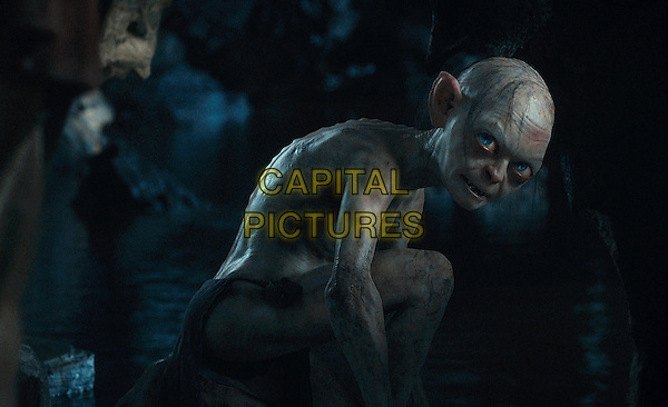 Gollum, performed by ANDY SERKIS .in The Hobbit: An Unexpected Journey (2012).*Filmstill - Editorial Use Only*.CAP/FB.Supplied by Capital Pictures.