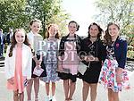 Emma Hackett, Jessica Teelan, Suranne Ellard, Amy McCann, Miruna Ursu and Rachel Brooks who were confirmed in Holy Family church Ballsgrove. Photo:Colin Bell/pressphotos.ie