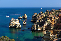 Portugal, Algarve, Lagos: Ponta da Piedade - Praia do Camilo