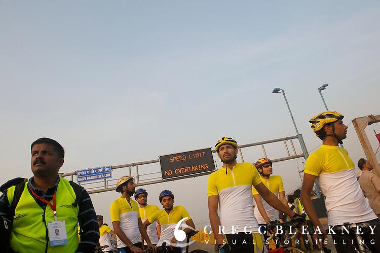Team India - 2010 Tour of Mumbai Cyclothon - India