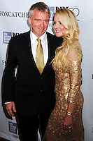 NEW YORK CITY, NY, USA - OCTOBER 10: Lucia Oskerova, Anthony Michael Hall arrive at the 52nd New York Film Festival - 'Foxcatcher' Premiere held at Alice Tully Hall on October 10, 2014 in New York City, New York, United States. (Photo by Celebrity Monitor)