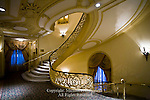 Bellevue Stratford, Grand Ballroom Stairway, Philadelphia, Pennsylvania