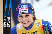 7th January 2018, Val di Fiemme, Fiemme Valley, Italy; FIS Cross Country World Cup, Tour de ski; Ladies 9km F Pursuit; Elisa Brocard (ITA)