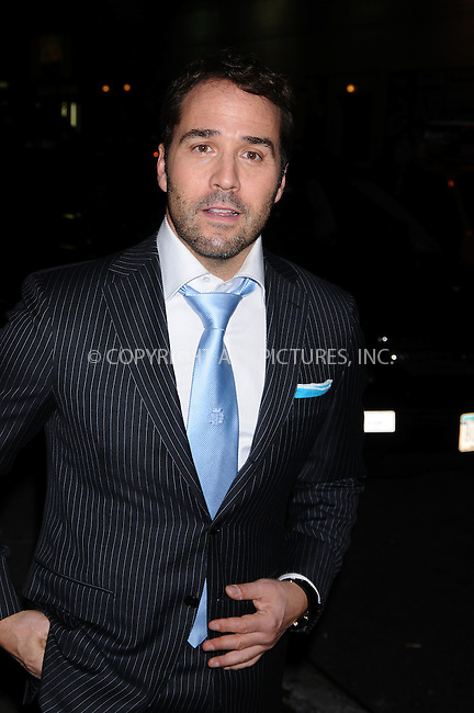WWW.ACEPIXS.COM . . . . .  ....October 6 2008, New York City....Actor Jeremy Piven made an appearance at the 'Late Show with David Letterman' on October 6 2008 in New York City.....Please byline: AJ Sokalner - ACEPIXS.COM..... *** ***..Ace Pictures, Inc:  ..te: (646) 769 0430..e-mail: info@acepixs.com..web: http://www.acepixs.com