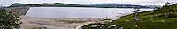 Norway, Hardanger, Eidfjord. Sysendammen is a hydro-electric dam in Eidfjord, Hordaland.