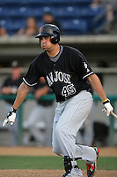 August 9 2009: C.J.Zieger of the San Jose Giants during game against the Rancho Cucamonga Quakes at The Epicenter in Rancho Cucamonga,CA.  Photo by Larry Goren/Four Seam Images
