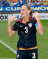 Christie Rampone. The USWNT defeated Canada, 1-0, at Suwon World Cup Stadium in Suwon, South Korea, to win the Peace Queen Cup.