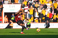 Joshua King of AFC Bournemouth scores the first goal from the penalty spot during AFC Bournemouth vs Wolverhampton Wanderers, Premier League Football at the Vitality Stadium on 23rd February 2019