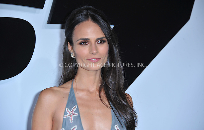 WWW.ACEPIXS.COM<br /> <br /> April 1 2015, LA<br /> <br /> Actress Jordana Brewster arriving at Universal Pictures Premiere of 'Furious 7'' at the TLC Chinese Theatre, Hollywood, on April 1, 2015 in Los Angeles.CA <br /> <br /> By Line: Peter West/ACE Pictures<br /> <br /> <br /> ACE Pictures, Inc.<br /> tel: 646 769 0430<br /> Email: info@acepixs.com<br /> www.acepixs.com