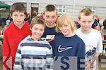 Jack Lenihan, Craig Courtney, David Shaw, Adam O'Shea and Billy Courtney at the Dr Crokes barbeque in Lewis Road on Sunday.   Copyright Kerry's Eye 2008