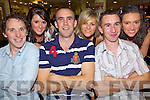 At The Races - Enjoying a night at the dogs at the Tralee Greyhound Track on Saturday night were l/r Pa Sheehan, Killorglin, Annette O'Brien, Killarney, Tadhg Scannell, Ciara O'Callaghan, Ballyvourney, Brendan Foley, Ballymacelligot and Sheila Marie O'Brien, Killorglin.............................................................................................................................................................................................................................................................................................. ............