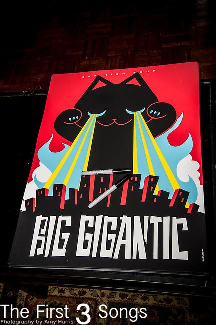Big Gigantic performs at Bogarts in Cincinnati, Ohio.