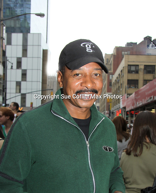 Robert Townsende at The 24th Annual Broadway Flea Market & Grand Auction to benefit Broadway Cares/Equity Fight Aids on September 26,2010 in Shubert Alley, New York City, New York. (Photo by Sue Coflin/Max Photos)