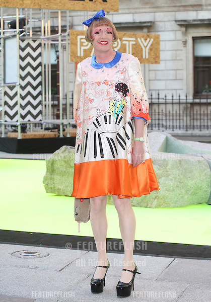 Grayson Perry arriving for the Royal Academy Of Arts Summer Exhibition Party, RAA, London. 05/06/2013 Picture by: Alexandra Glen / Featureflash