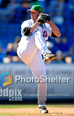 17 March 2007: New York Mets pitcher Billy Wagner in action against the Washington Nationals on St. Patrick's Day at Tradition Field in Port St. Lucie, Florida...Mandatory Photo Credit: Ed Wolfstein Photo