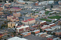 Aerial of downtown Pueblo. Oct 2012