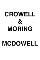 Crowell & Moring McDowell