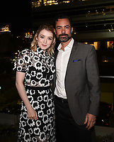 """HOLLYWOOD - MAY 29: Sarah Bolger and Danny Pino attend the FYC event for FX's """"Mayans M.C."""" at Neuehouse Hollywood on May 29, 2019 in Hollywood, California. (Photo by Frank Micelotta/FX/PictureGroup)"""