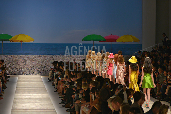 Milao, Italia &sbquo;19/09/2013 - Desfile de Blugirl durante a Semana de moda de Milao  -  Verao 2014. <br /> Foto: FOTOSITE
