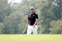 Adam Scott (AUS) putts on the 8th hole during the final round of the 100th PGA Championship at Bellerive Country Club, St. Louis, Missouri, USA. 8/12/2018.<br /> Picture: Golffile.ie | Brian Spurlock<br /> <br /> All photo usage must carry mandatory copyright credit (&copy; Golffile | Brian Spurlock)