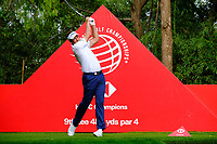 Ian Poulter (ENG) on the 9th tee during the 2nd round at the WGC HSBC Champions 2018, Sheshan Golf CLub, Shanghai, China. 26/10/2018.<br /> Picture Fran Caffrey / Golffile.ie<br /> <br /> All photo usage must carry mandatory copyright credit (&copy; Golffile | Fran Caffrey)