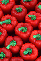 Red bell peppers, Capsicum vegetable, sweet pepper