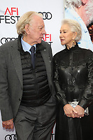 HOLLYWOOD, CA - NOVEMBER 12: Donld Sutherland and Helen Mirren at The Leisure Seeker Special Screening During AFI Fest 2017 at the Egyptian Theatre in Hollywood, California on November 12, 2017. <br /> CAP/MPI/FS<br /> &copy;FS/MPI/Capital Pictures