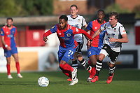 Lamar Reynolds of Dagenham and Redbridge during Dagenham & Redbridge vs Wrexham, Vanarama National League Football at the Chigwell Construction Stadium on 13th October 2018
