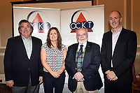 Pictured at an OCKT Chartered Accountants Budget Highlights Briefing in The Malton Hotel, Killarney on Wednesday were from left, John Campbell, California, Sarah Treacy, Stuart Watson, Scotland and Mike Stack, Killarney.<br /> Photo: Don MacMonagle<br /> <br /> repro free photo