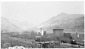 D&amp;SL engine taking water at Tolland, just east of the Moffat Tunnel.<br /> Denver and Salt Lake Ry.  Tolland, CO  1906-1912