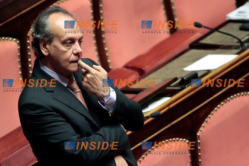 Francesco Nitto Palma.Roma 21/05/2013 Senato. Il Premier riferisce al Senato sul consiglio UE..Italian Premier's speech at the Senate about UE..Photo Samantha Zucchi Insidefoto