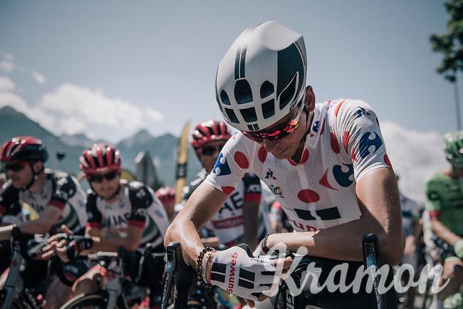 Warren Barguil (FRA/Sunweb) at the start<br /> <br /> 104th Tour de France 2017<br /> Stage 18 - Briancon › Izoard (178km)