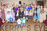 Golden Celebrations - Michael & Delores Bourke from St Brendan's Park, Tralee, seated centre having a wonderful time with family and friends at their 50th Wedding Anniversary party held in the Kerins O'Rahillys GAA Clubhouse on Friday night.