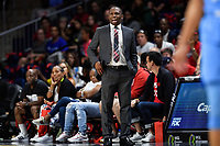 Washington, DC - September 8, 2019: Chicago Sky head coach James Wade on the sideline during game between the Chicago Sky and Washington Mystics at the Entertainment and Sports Arena in Washington, DC. The Mystics locked up the #1 seed in the Playoffs by defeating the Sky 100-86. (Photo by Phil Peters/Media Images International)