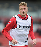 Fleetwood Town's Harry Souttar during the pre-match warm-up <br /> <br /> Photographer Kevin Barnes/CameraSport<br /> <br /> The EFL Sky Bet Championship - Fleetwood Town v AFC Wimbledon - Saturday 10th August 2019 - Highbury Stadium - Fleetwood<br /> <br /> World Copyright © 2019 CameraSport. All rights reserved. 43 Linden Ave. Countesthorpe. Leicester. England. LE8 5PG - Tel: +44 (0) 116 277 4147 - admin@camerasport.com - www.camerasport.com