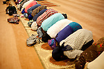 Evening prayers and the iftar (meal after a fast) take place at the Atlanta Masjid of Al-Islam in Atlanta, Georgia during Ramadan on September 7, 2010. ..Kendrick Brinson/LUCEO