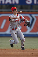 March 9, 2010:  Infielder Mark Menaker of the Illinois State Redbirds during a game at McKethan Stadium in Gainesville, FL.  Photo By Mike Janes/Four Seam Images