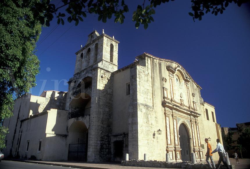 AJ2311, Santo Domingo, Dominican Republic, Caribbean, Caribbean Islands, Convent of Dominican Order, the first convent of the Dominican priests in the New World, in Santo Domingo the capital city of the Dominican Republic.