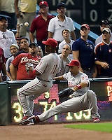 Ibanez, Raul 5838.jpg Philadelphia Phillies at Houston Astros. Major League Baseball. September 6th, 2009 at Minute Maid Park in Houston, Texas. Photo by Andrew Woolley.