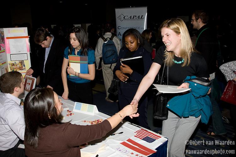 Career Fair at Power Shift '09 (©Robert vanWaarden ALL RIGHTS RESERVED)