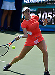 August  1, 2019:  Christina McHale (USA) battles against Catherine McNally (USA) at the Citi Open being played at Rock Creek Park Tennis Center in Washington, DC.  ©Leslie Billman/Tennisclix/CSM