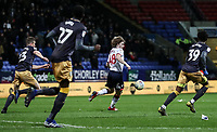 Bolton Wanderers' Luca Connell breaks<br /> <br /> Photographer Andrew Kearns/CameraSport<br /> <br /> The EFL Sky Bet Championship - Bolton Wanderers v Sheffield Wednesday - Tuesday 12th March 2019 - University of Bolton Stadium - Bolton<br /> <br /> World Copyright © 2019 CameraSport. All rights reserved. 43 Linden Ave. Countesthorpe. Leicester. England. LE8 5PG - Tel: +44 (0) 116 277 4147 - admin@camerasport.com - www.camerasport.com